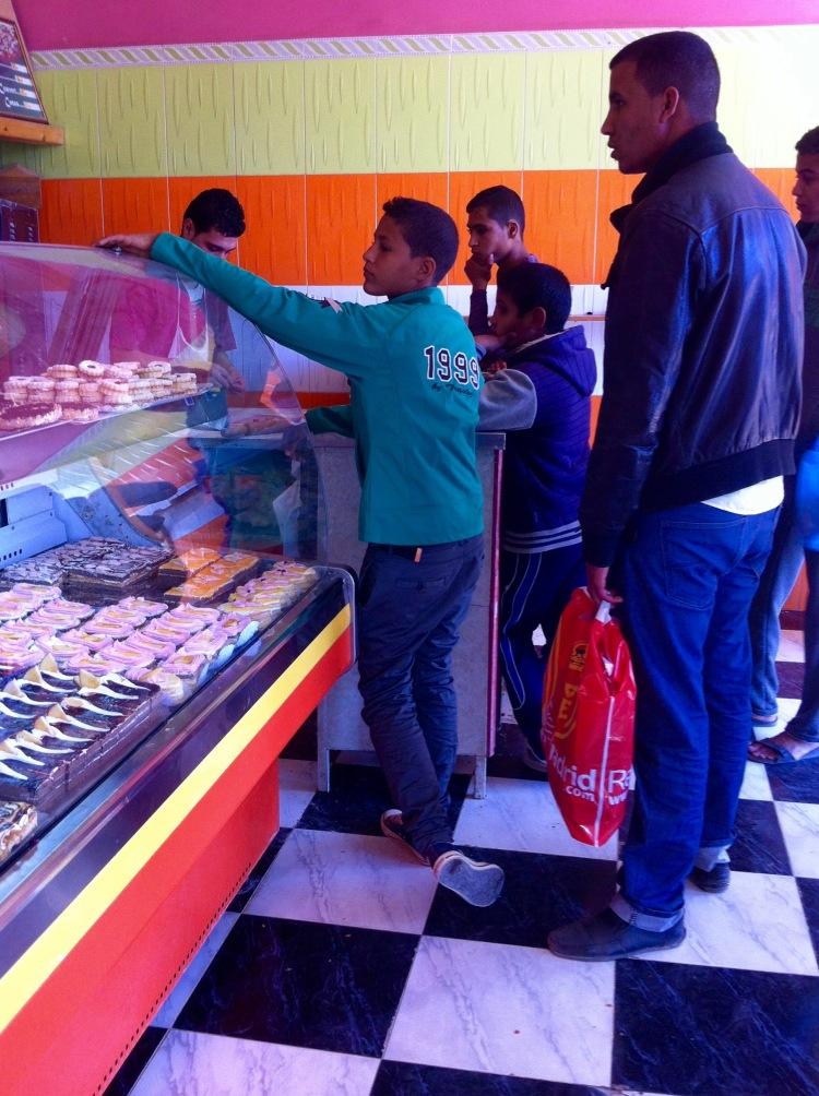 Pastelería en Tinduf