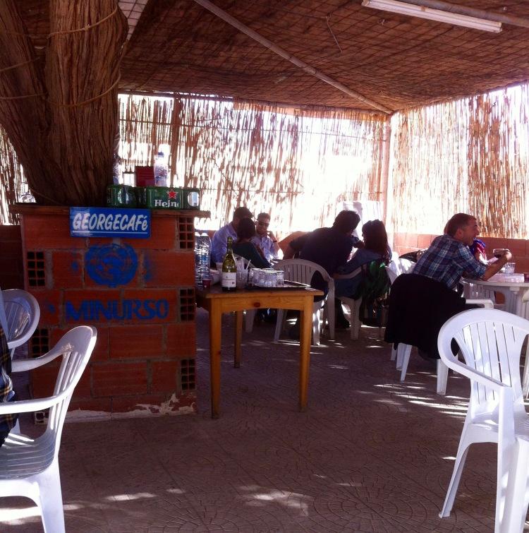 El Georgecafé de la Minurso